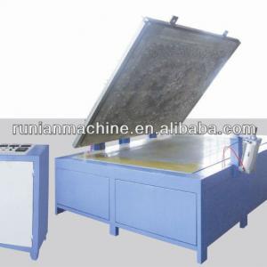 RN700 textile fabric manual embossing machine