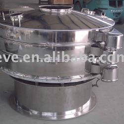 rotary vibratory screen for food spice