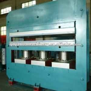 rubber hot press machine/rubber mats curing machine/heat pressing machine
