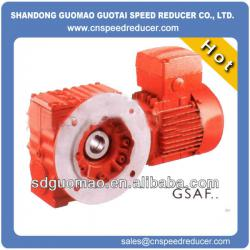 S series high precision helical worm gare motor