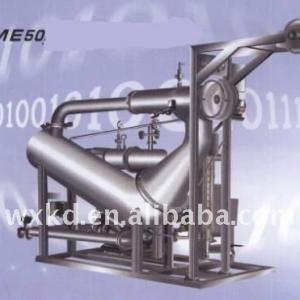 Sample overflow dyeing machine