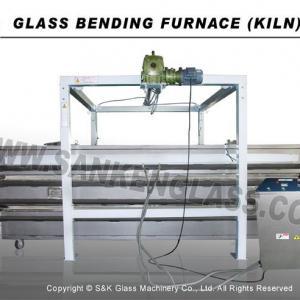 Sanken SKF-3525 Glass Fusing and Bending Machine