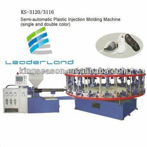 semi automatic plastic injection molding machine