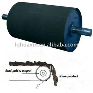 Series RCT permanent magnetic pulley, magnetic drum,magnetic roller