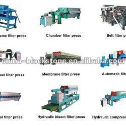 Sewage Treatment Filter Press Popular in Pekistan