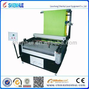 SH-1610 high speed automatic Laser Cloth Cutting Machine