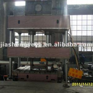 Sheet metal hydraulic single-action hydraulic press