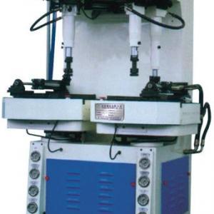 Shoe sole and bottom attaching machine, sole pressing machine.
