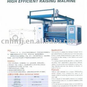 short velvet raising machine