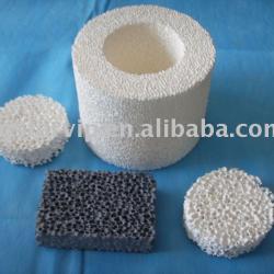 Silicon Carbide Ceramic Foam Filter for casting