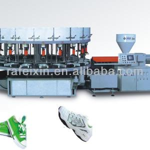 Single-Color Plastic Sole Injection Molding Machine
