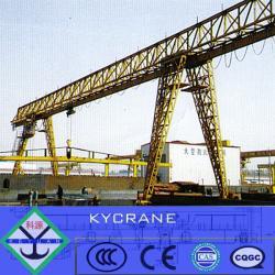 Single girder mobile structural steel gantry crane