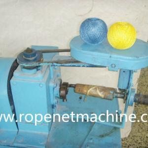 single head yarn winding machine for balls