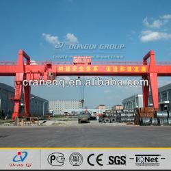 Single main beam hook gantry crane for sale