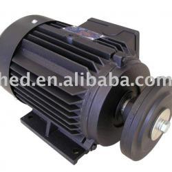 Single phase cast iron motor