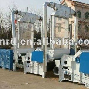 SIX CYLINDER HIGH EFFICIENCY COTTON/POLYESTER FABRIC RECYCLING MACHINE LINE