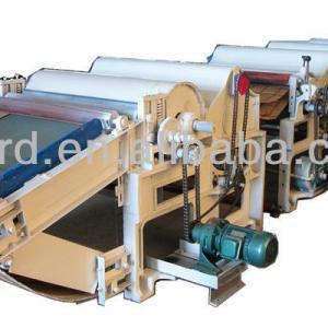 Six-Roller Fiber waste recycling machine line