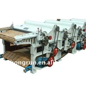 Six-roller Textile Waste Recycling Machine For Fabric