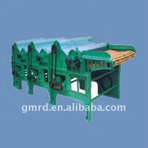 Six-Roller textile waste recycling machine line