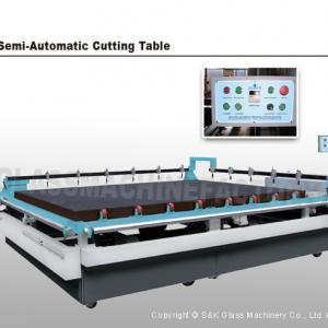 SKC-2620S Semi-automatic Glass Cutting Table