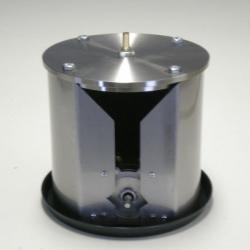 Small filter for wine from stainless steel