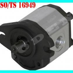 Small hydraulic gear motor for hydraulic system
