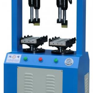 sole pressing or attaching machine