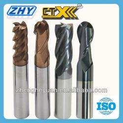 Solid Carbide 2/4 Flutes Cutting Tool For Finishing Machining