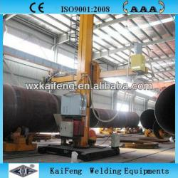 stable motorized conventional seam welding column and boom