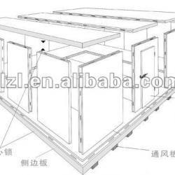 stailess steel cold storage room