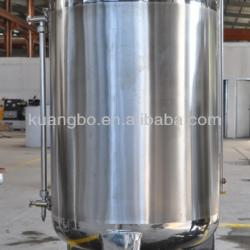 Stainless steel beer storage tank