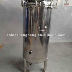 Stainless steel briet beer tank with ferrule,tri-clamp,handle