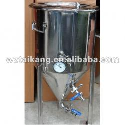 stainless steel conical beer fermenter / cone fermenter