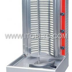 stainless steel electric kebab maker machine