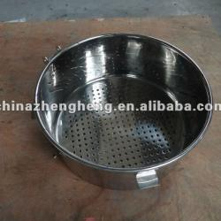 stainless steel filter bucket