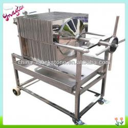 stainless steel filter press for food industry factory outlet