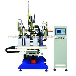 Steel wire brush drilling and tufting machine (Model: GSJ403)