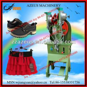 Superior and highly competitive eyeleting machine