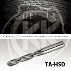 TA-HSD - solid carbide drill / cutting tool