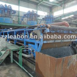 tailings DZU vacuum belt filter press