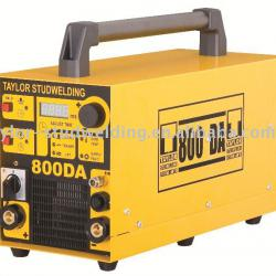 Taylormade stud welding machine System 800DA for stud welding with shielding gas, with ceramic ferrule