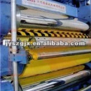 textile three rollers fabric finishing machine