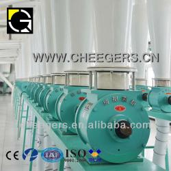 The flow-through rotary airlock valve for dal mill machine