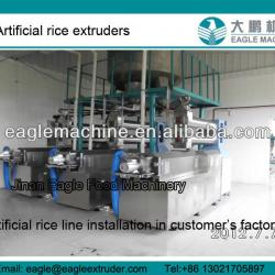 thin and long artificial rice making machine