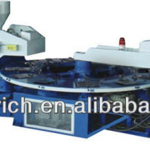 Three-color strap injection moulding machine