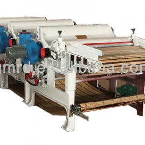 Three roller textile waste recycling machine manufacyure
