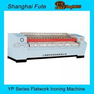 three rollers steam heating industrial ironing machine