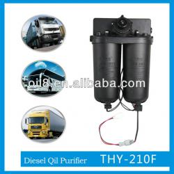 THY-210F fuel oil purifier with automatic temperature control