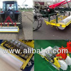 Tractor seeding machine: Jang Seeder JTS 1500 - multi row tractor seeder for onion, carrot, cabbage, quinoa