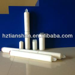 TS 5 inch PES Pleated Filter Cartridges for water filter system